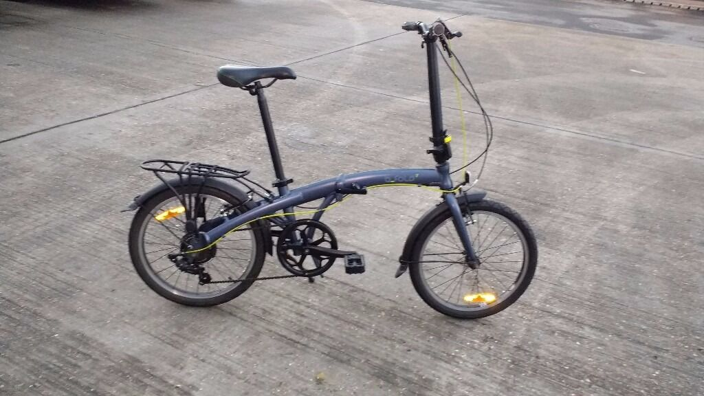Decathlon Btwin Bfold 7 Folding Bike In Croydon
