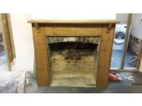 fireplace surround antique