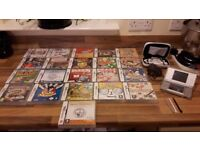 Excellent Condition Nintendo DS Lite With 22 Games and Accessories Must See