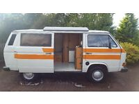 🚩VW T25 VINTAGE CAMPERVAN **** HIRE FROM ONLY £99*** 🚩
