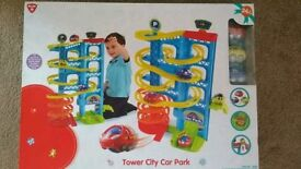 Toy: tower car park