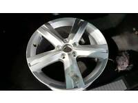 Volkswagon alloy never been used