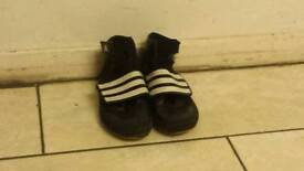 Kids Adidas boxing trainers