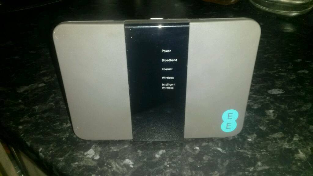 Brand new EE router
