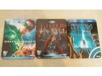 Blu- Ray Steelbooks