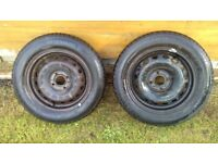 Renault Clio Wheels And Tyres 14 Inch (x 2) Tyre Size 175/65R 14 82T