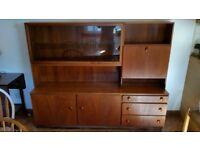 Wooden Dining Room Display Unit