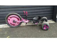 Green Machine Go Kart Ride On Drift Trike