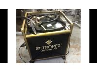 St tropez commercial spray tanning machine