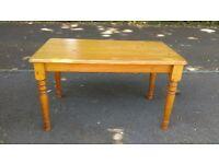 Solid Pine, farmhouse kitchen table
