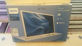 "Philips 24"" boxed"