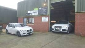 Service and MOT Car Garage Servicing and Repairs for VW Jaguar Audi Mercedes BMW Specialists