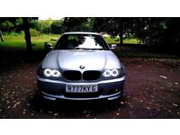 BMW 320CD Coupe M Sport - Silver - FSH - Manual - Quick Sale - 320D