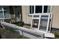 Pvc Windows and door. Free to collect!