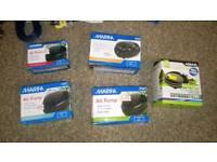 BN aquarium fish equipment filters,air pumps, heaters...