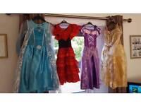 Dress up dresses. Disney princesses.