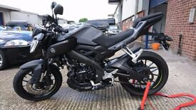 Yamaha MT125 ABS 2016 (66)- NITRO GREY - ONE OWNER - Immaculate Condition- Just Serviced!