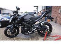 Yamaha MT125 ABS 2016 (66)- NITRO GREY - ONE OWNER - Immaculate Condition