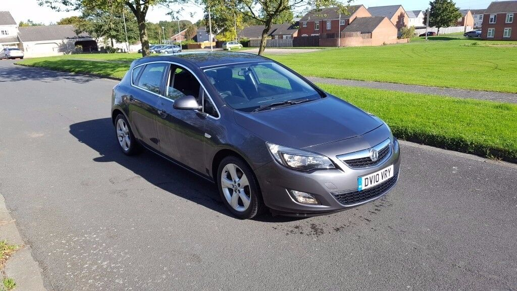 10 REG VAUXHALL ASTRA 1.4 SRI TURBO GREY 5DR 95K-MILES FSH OUTSTANDING FREE-DELIVERY CHEAP CAR L@@K