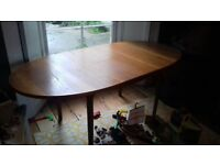 Vintage mid century McIntosh extending dining table retro great condition