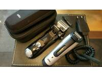 Braun 720S-3 foil Shaver + Braun beard trimmer + a gift Braun shaver RRP: £480