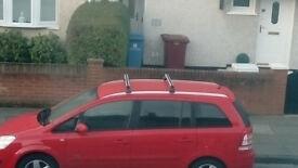 Vauxhall Zafira b/ Astra Roof bars