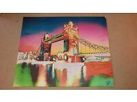Unique & Stunning Photo Canvas London Tower Bridge by German Andy Goldbaum