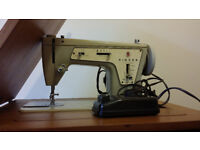 Electric Singer 237 sewing machine with cabinet and pedal for sale!