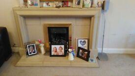 MinsterStone Fireplace