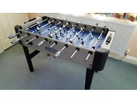 Football Table, Sportscraft Cobalt 4ft x 2ft, Like new