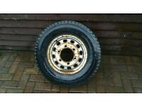 Transit wheel with brand new Michelin tyre 15""