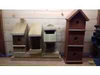 Handmade Bird Boxes