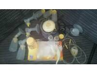 Medela breast pump bundle