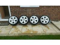 Bmw x5 alloys white