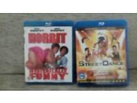 2 Blue Ray Films.