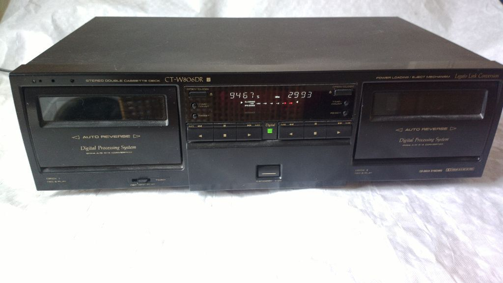 Pioneer Ct W806 Twin Cassette Deck In Reading Berkshire Gumtree