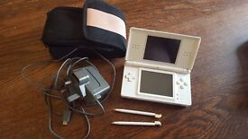 Nintendo DS with case, 2 stylus and 15 games