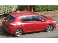 Toyota, AURIS, Hatchback, Sept 2012 (62), ULEZ, Hybrid, 1798 (cc), 5 doors
