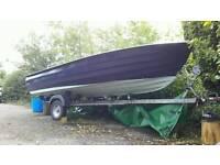 Bonwitco 449 unsinkable fishing boat