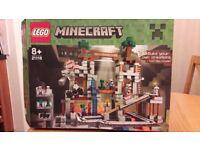 Lego minecraft set 21118 the mine