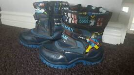 Toddler/Boys size C8 boots and trainers