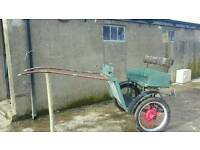 Horse's cart