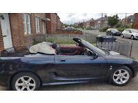 mg tf convertible 2002