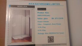 Brand new wet room shower screen surplus to requirements. Still in original packaging