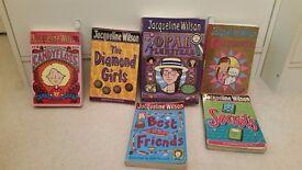 6 Jaqueline Wilson books only £5 candy floss, diamond girls, Opal Plumstead ,Queenie ,Best Friends