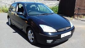 FORD FOCUS 1.6 Ebony Hatchback 3d 1596cc (black) 2003