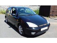 FORD FOCUS 1.6 Ebony Hatchback 3d 1596cc (black) 2003
