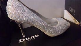 Ladies Diamante heels size 7