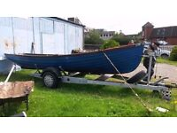 19ft McAlinden fishing boat outboard trailer ect ready to go