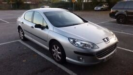Peugeot 407 1.6 diesel tax and mot 09.2018 drives good